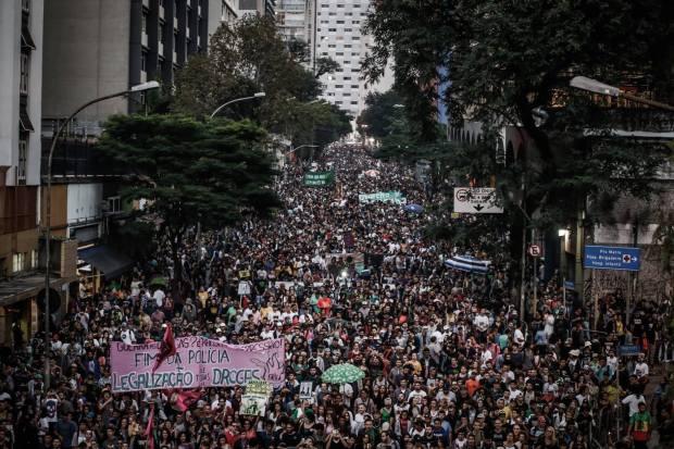 Marcha da Maconha São Paulo 2017